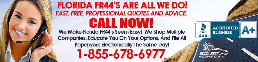 Florida FR44 Insurance